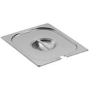 Saro Gastronormbehälter - Deckel mit Löffelauss. GN 1/9