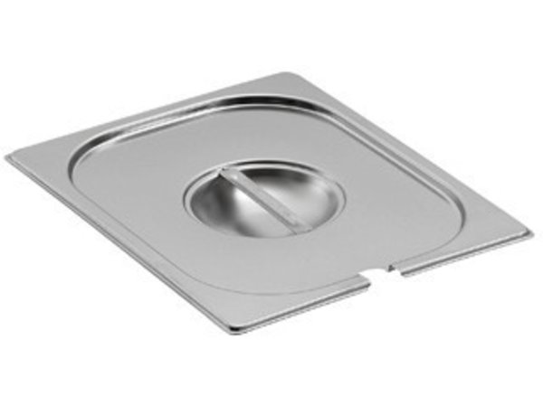 Saro Gastronorm lid with hole for ladle GN 1/9