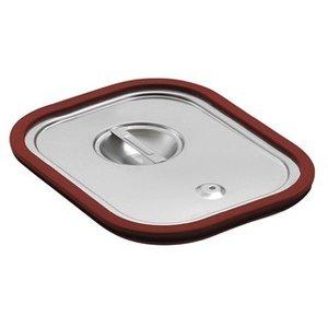 Saro Gastronormbehälter - Deckel mit Gummiabd. GN 1/4