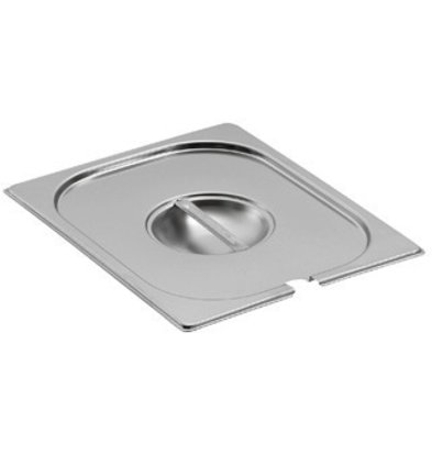 Saro Lid 1/4 GN with spoon recess