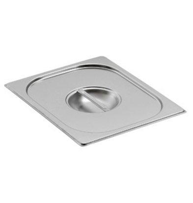 Saro Gastronormbehälter - Deckel o. Löffelauss. GN 1/2