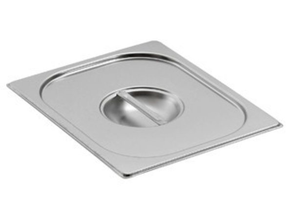 Saro Gastronorm lid without hole for ladle GN 1/2
