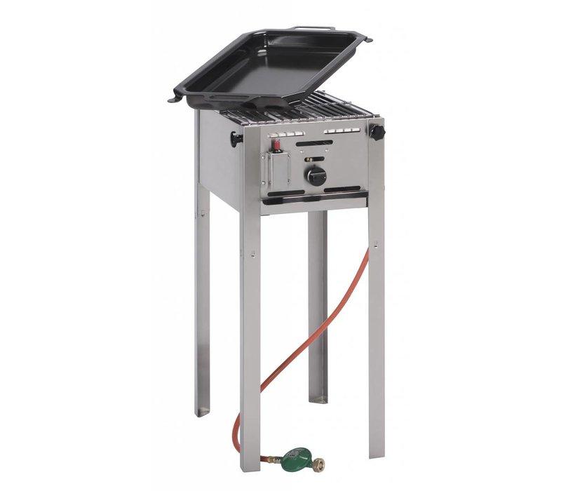 Hendi Gas Barbecue Hendi 154700 Grill Master Mini | Propaangas BBQ | Compleet met Toebehoren