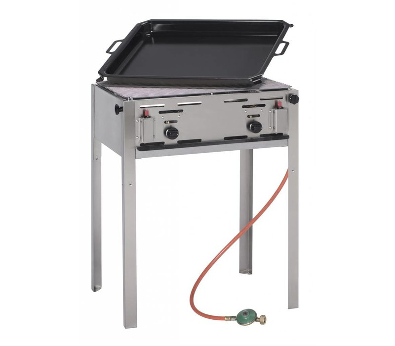 Hendi Hendi Grill Master Maxi BBQ | Slagers Barbecue | Grill Master Maxi voor Propaangas | BEST VERKOCHT!