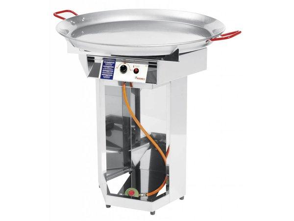 Hendi Hendi Fiesta Grill Gas   Gasgrill Grill XXL   800mm Durchmesser Pfanne   Propan   PROFESSIONAL
