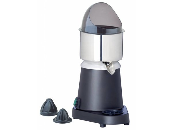 Hendi Juicer Electric - With anti-splash guard - Stainless Steel - 230V / 180W - 300x200x (H) 350mm