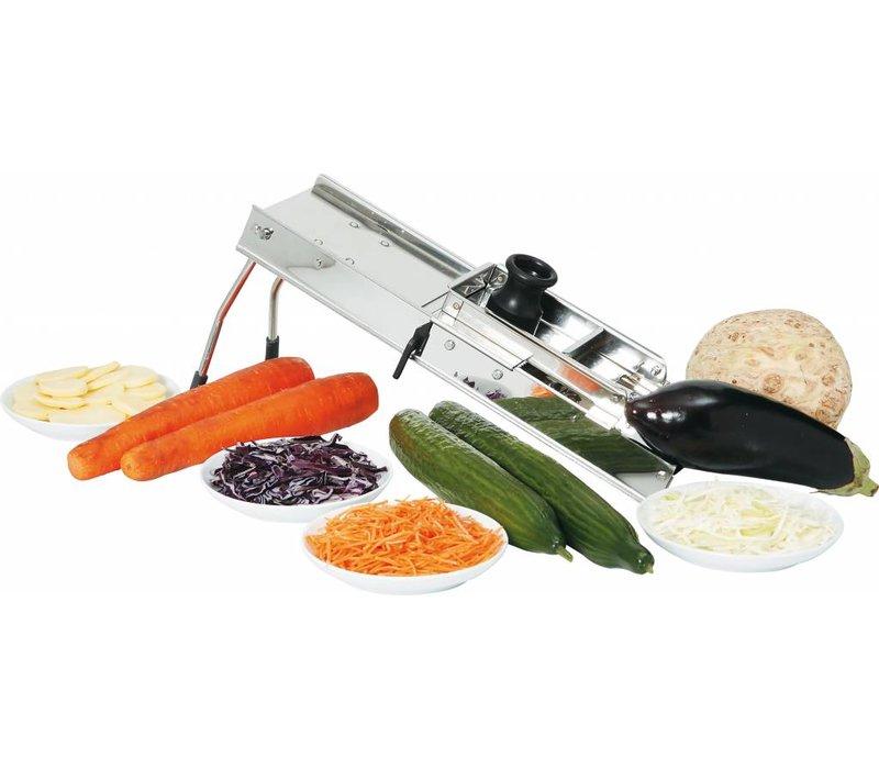 Hendi Gemüseschneider Edelstahl Mandoline - Inc 3 meskammen
