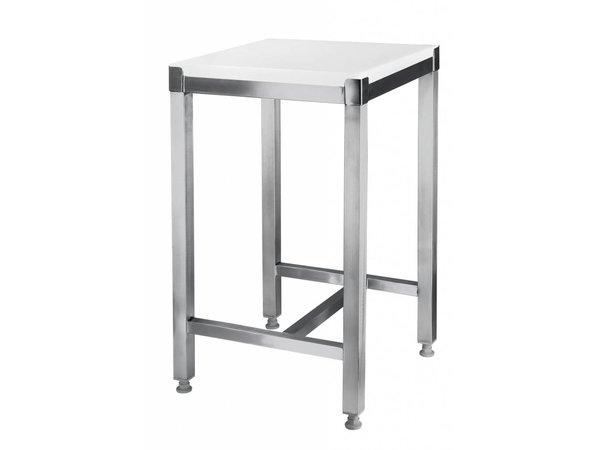 Hendi Chopping Block + Berg Hartplastik - 500x400x80 + (H) 750 mm - 22,5 kg