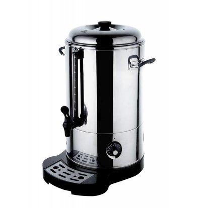 Hendi Doppel-Warmwasser-Zufuhr / Glühwein Kessel | Hahn | Ø241mm | 9 Liter