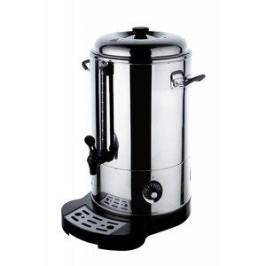 Hendi Doppelwandige Edelstahl Warmwasser-Zufuhr / Glühwein Boiler | Ø288mm | 18 Liter