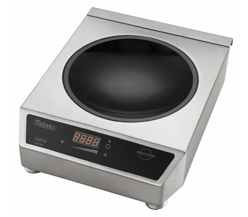 Hendi Hendi Inductiewok digitaal - 34x45x(h)12 - 3500W/230V