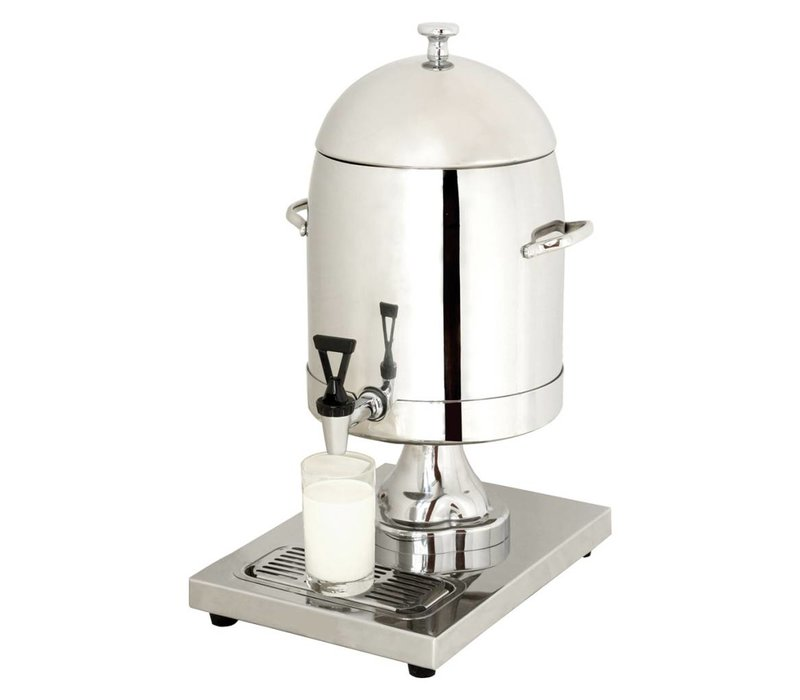 Hendi Milk dispenser with ice-cylinder 10.5 liter