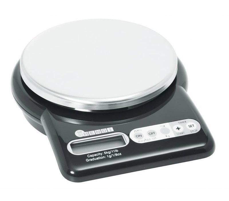 Hendi Elektronische Waage 5 kg | Displays von 1 gr