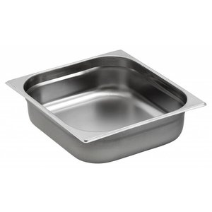 Saro Gastronormbak - stainless steel GN 2/3 - 1.5 liters - 20mm | 325x354mm