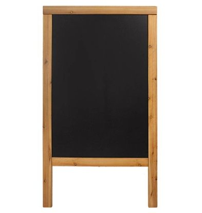 Securit Stoepbord Teak - Duplo 70x120 - BASIC