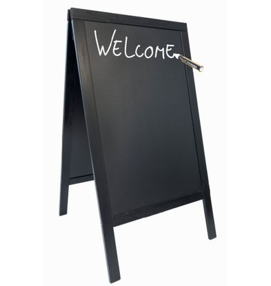 Securit Stoepbord Black - Duplo 70x125 - BASIC - XXL Angebot