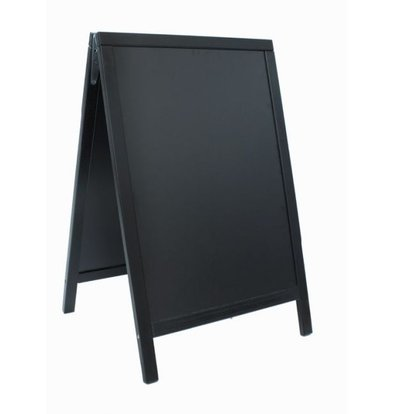 Securit Stoepbord Zwart - Duplo 55x85 - BASIC