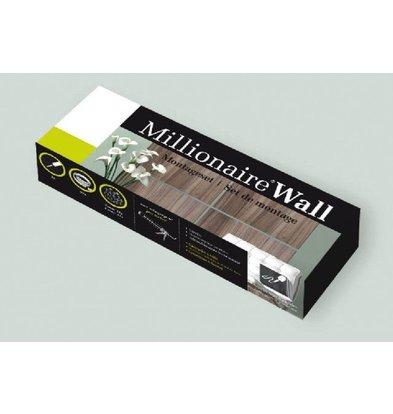 Millionaire Wall Millionaire Wandmontagesatz - Montage 4-6 Panels