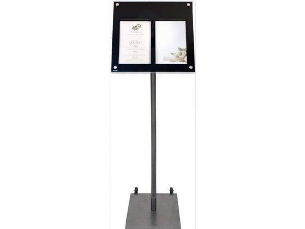 Securit Standardmenü für gebogene Schrank | 95 cm