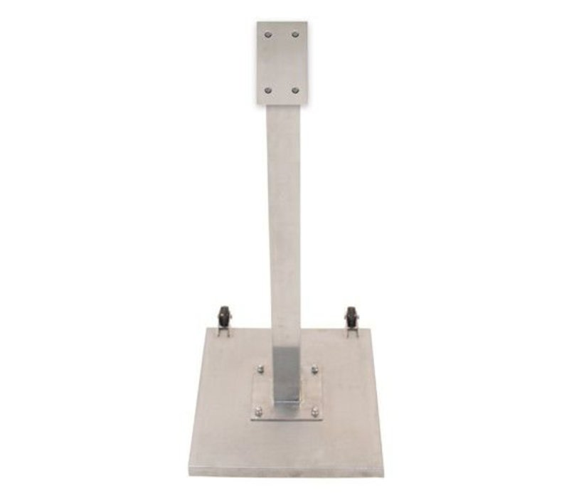 Securit Standaard voor Menukast RVS Deluxe | 120 cm