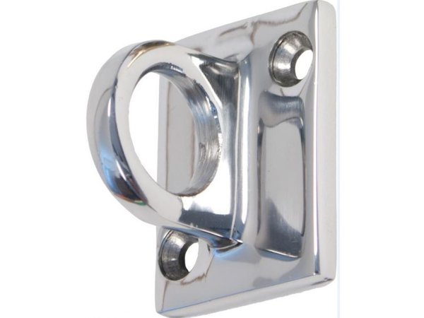 Securit Wall Hook Outlet Cords Chrome | Deluxe