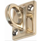 Securit Wall Hook Outlet Cords Gold   Deluxe