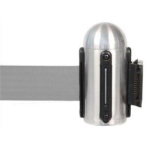 Securit Muursysteem Chroom - Grijs trekband | Deluxe