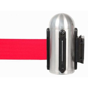 Securit Wand-System Chrome - rote Kordel | Luxus-