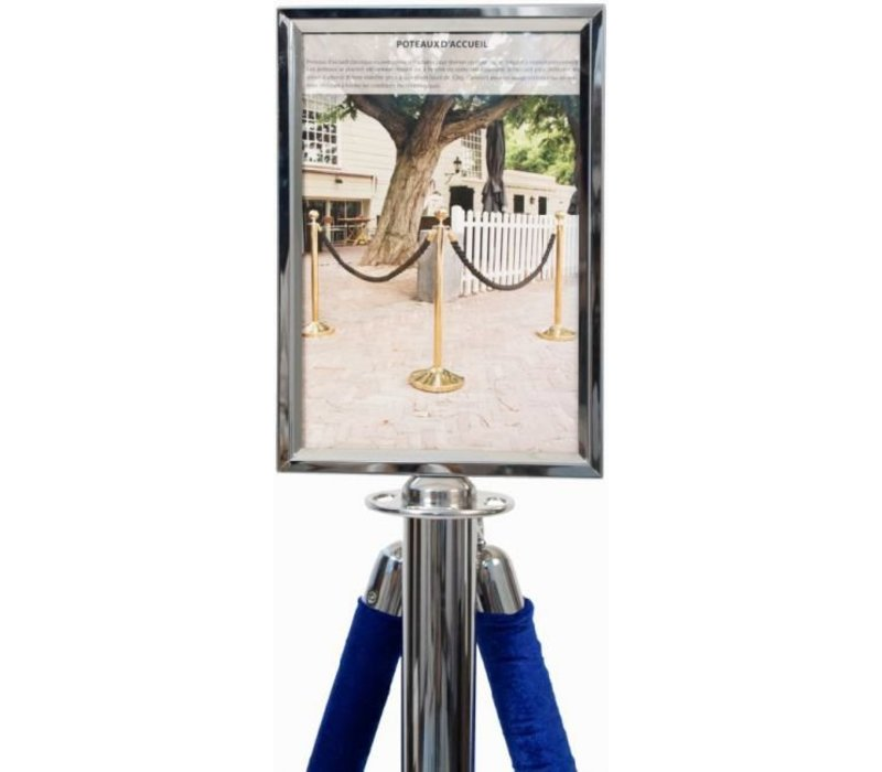 Securit Posterframe Classic Chroom - A4 | Deluxe
