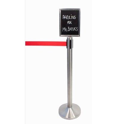 Securit Plakatrahmen Tension Chrom - A4 | Luxus-