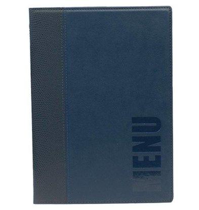 Securit Horeca Menukaart Trendy - Blauw A5