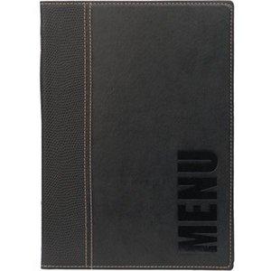 Securit Horeca Menu Trendy - Black A5