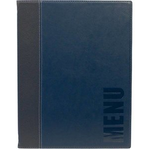 Securit Catering Menu Trendy - Blue A4
