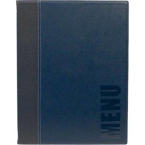 Securit Horeca Menukaart Trendy - Blauw A4