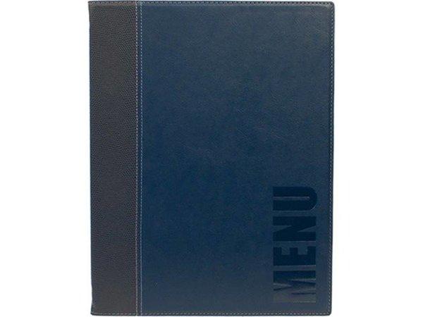 Securit Horeca Menü Trendy - Blau A4