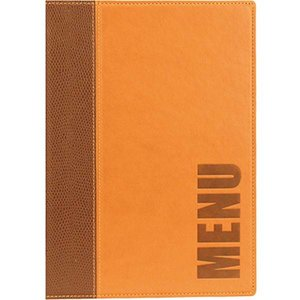 Securit Catering Menu Trendy - brown A5