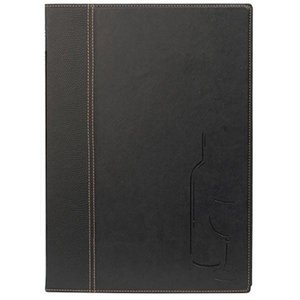 Securit Catering Wine List Trendy - Black A4