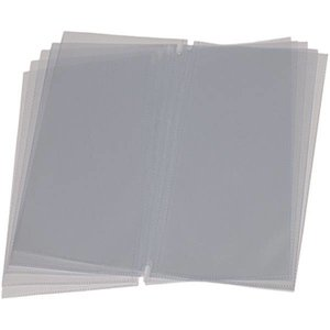 Securit Menü Fügt LONG - 10 Stück - für bis zu 40 Seiten.