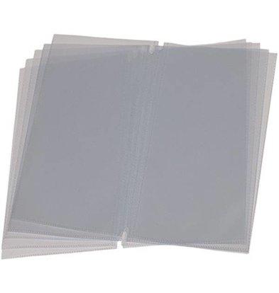 Securit Menukaart Inserts LONG - 10 stuks - Voor max. 40 pagina's