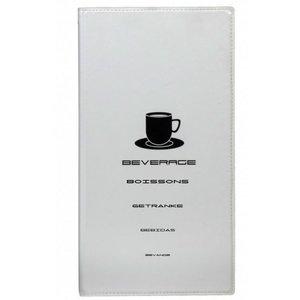 Securit Trinken Card Design - White A4