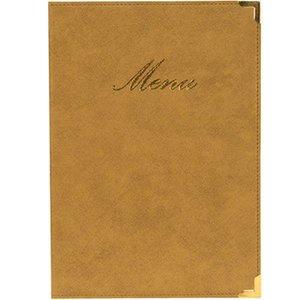 Securit Classic menu folder - Ivory A5