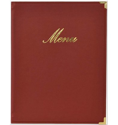 Securit Menü-Ordner Classic - Wein A4