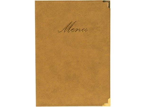 Securit Menu folder Classic - Ivory A4