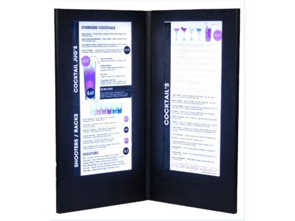 Securit Einsätze LED-Menu - Inkjet - Pro 20 Stücke