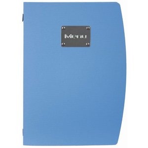 Securit Menu Rio - Blue A4 - ECO FRIENDLY