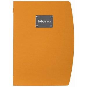 Securit Menü Rio - Orange A4 - umweltfreundliche