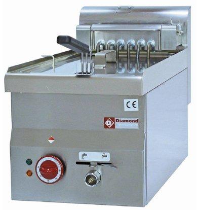 Diamond Fritteuse | 10 Liter | Ablassventil | Kalte Zone | 400V | 7,5 kW | 300x600x (H) 280 / 400mm