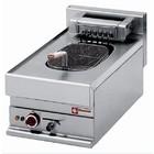 Diamond Electric Fryer | 10 Liter | Drain valve | Cold Zone | 400V | 7.5kW | 400x650x (H) 280 / 380mm