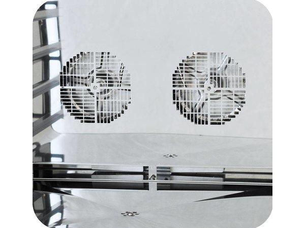 Diamond Heteluchtoven met Stoomfunctie - 825x685x560(h)mm - voor 4 x 2/3 GN