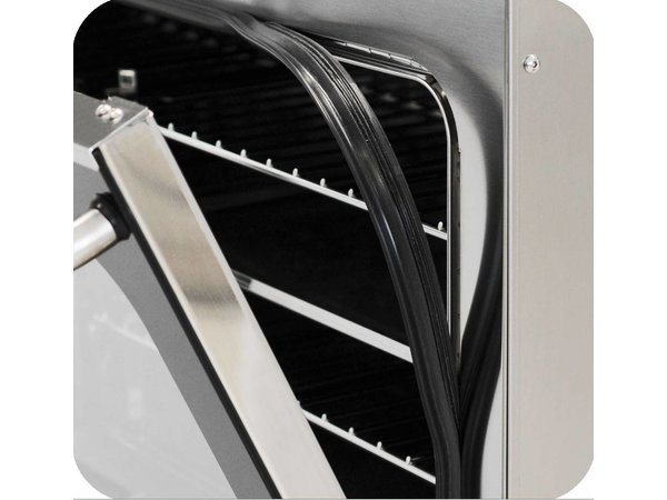 Diamond Konvektion-Ofen Rostfreier Stahl - 725x670x600 (H) mm - 4x 600x400 mm